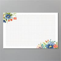 Stampin Up Sarah grid paper