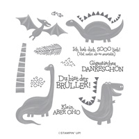 DUFTE DINOS PHOTOPOLYMER STAMP SET (GERMAN)