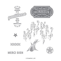 MOSAÏQUE MÉMORABLE CLING STAMP SET (FRENCH)