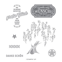 GLÜCKSMOSAIK CLING STAMP SET (GERMAN)