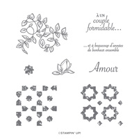 JARDIN VERDOYANT PHOTOPOLYMER STAMP SET (FRENCH)