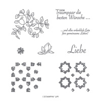 GARTEN DER LIEBE PHOTOPOLYMER STAMP SET (GERMAN)