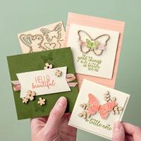 """Karten """"Schmetterlingsglück"""""""