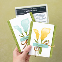 Lasting Lily Cards