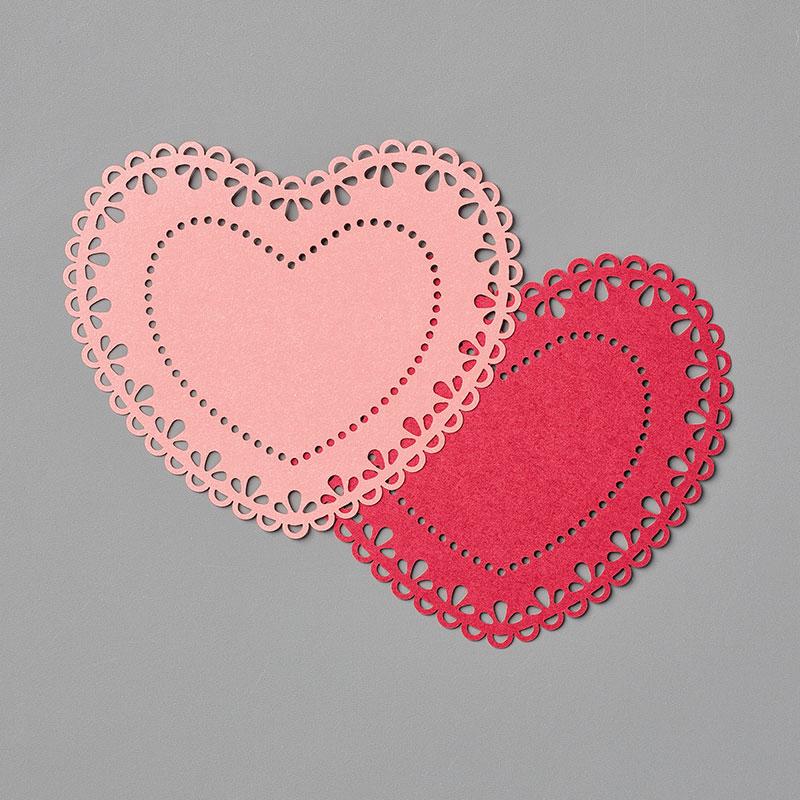 151191: Zierdeckchen in Herzform Image