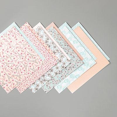 PARISIAN BLOSSOMS SPECIALTY DESIGNER SERIES PAPER
