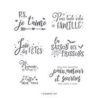 FESTIVITÉS À L'ANNÉE CLING STAMP SET (FR)