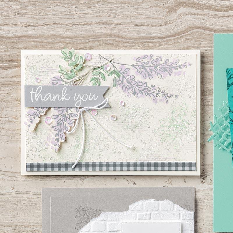 Artisan Textures Cling-Mount Stamp Set
