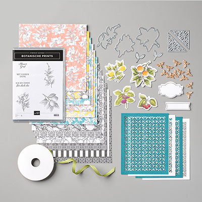 BOTANISCHE PRINTS PRODUCT MEDLEY (GERMAN)