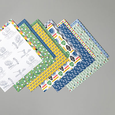 COUNTRY CLUB DESIGNER SERIES PAPER