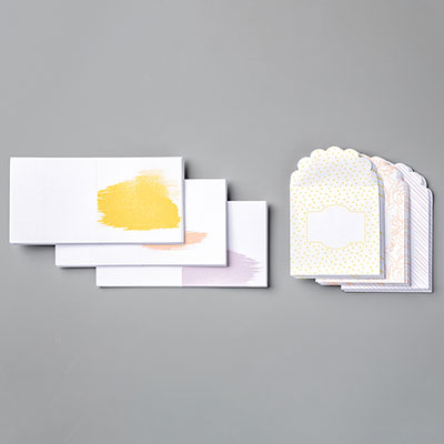 BEST DRESSED 3 X 3 (7.6 X 7.6 CM) NOTE CARDS & ENVELOPES