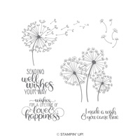 Dandelion Wishes Cling-Mount Stamp Set