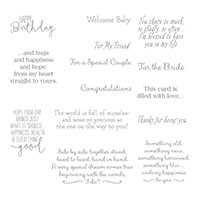 Special Celebrations Cling-Mount Stamp Set
