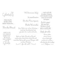 Für Besondere Anlässe Cling-Mount Stamp Set (German)