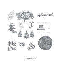 Kraft Der Natur Cling-Mount Stamp Set (German)