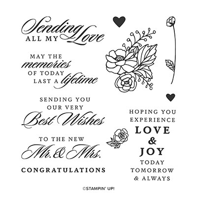 LAST A LIFETIME CLING STAMP SET (ENGLISH)