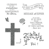 Garde L'espoir Cling-Mount Stamp Set (French)