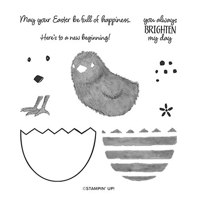 FULL OF HAPPINESS PHOTOPOLYMER STAMP SET