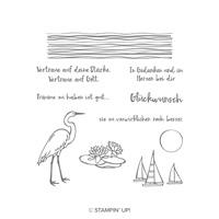 Am Seerosenteich Clear-Mount Stamp Set (German)