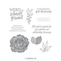 Genesungswünsche Cling-Mount Stamp Set (German)