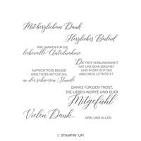 Voller Mitgefühl Cling-Mount Stamp Set (German)