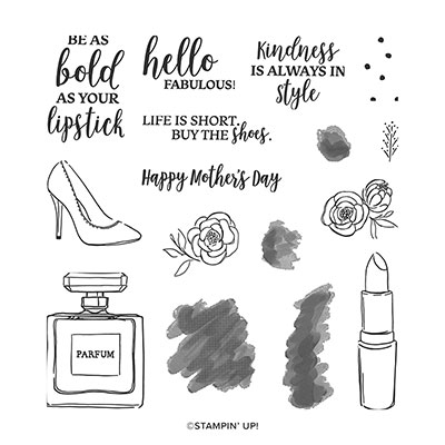 DRESSED TO IMPRESS PHOTOPOLYMER STAMP SET (ENGLISH)