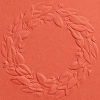 SEASONAL WREATH 3D EMBOSSING FOLDER