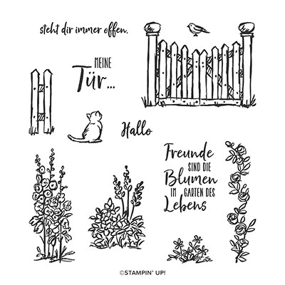 GEHEIMNISVOLLER GARTEN PHOTOPOLYMER STAMP SET (GERMAN)