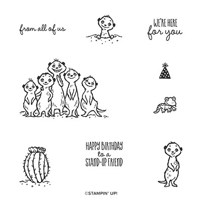 THE GANG'S ALL MEER CLING STAMP SET