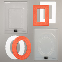 HEIRLOOM FRAMES DIES AND 3D EMBOSSING FOLDER