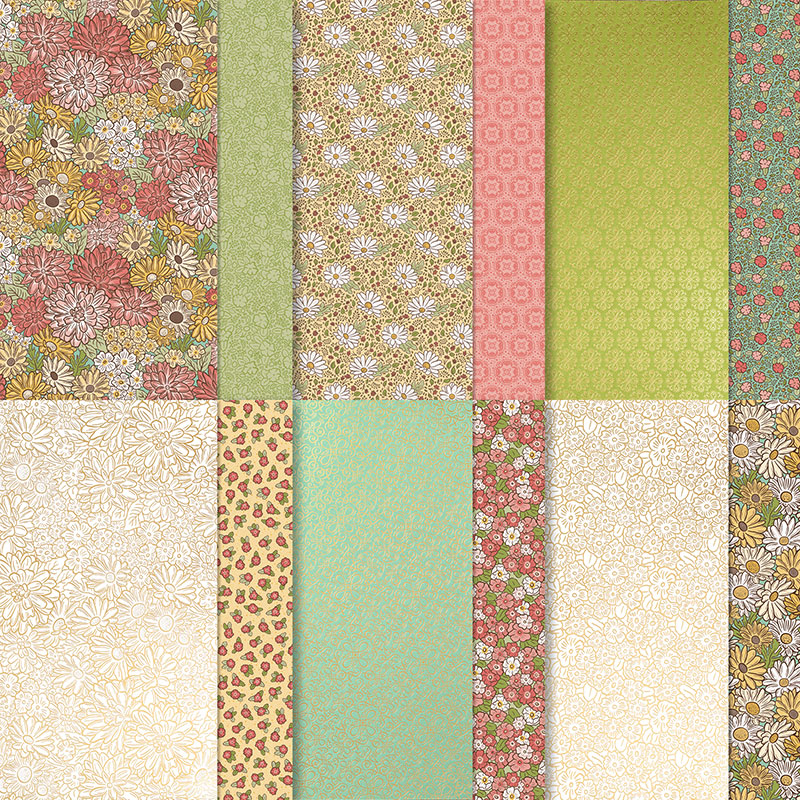 Ornate Garden Specialty Designer Series Paper