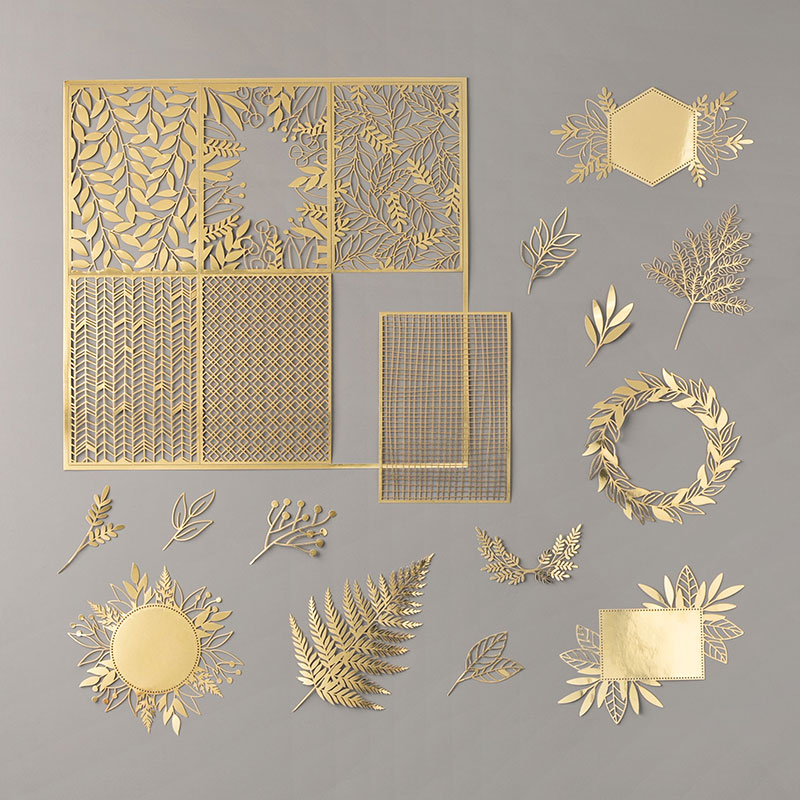 Forever Gold Laser-Cut Specialty Paper