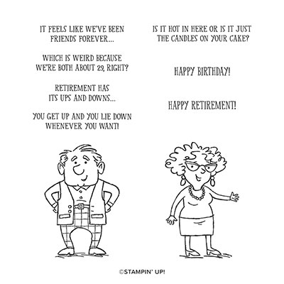 SENIOR YEARS CLING STAMP SET (ENGLISH)