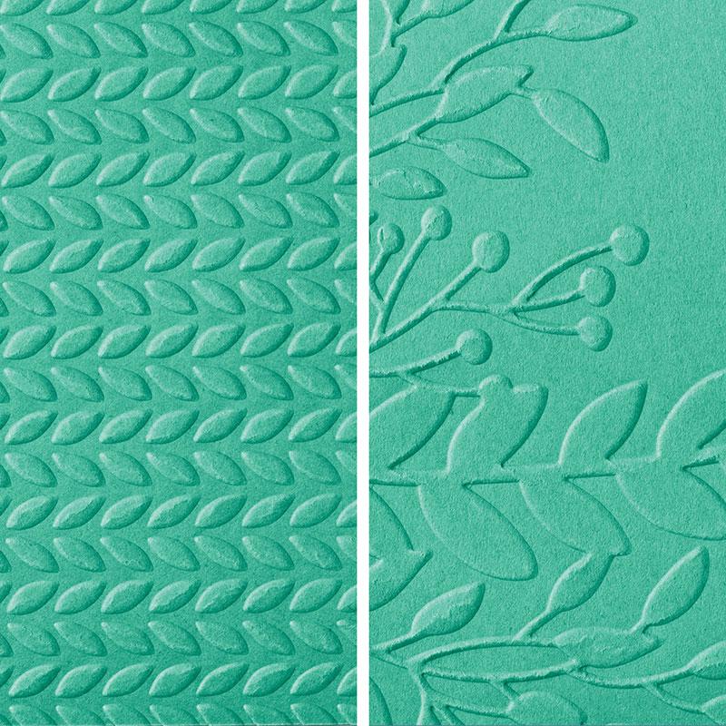 Greenery Embossing Folders