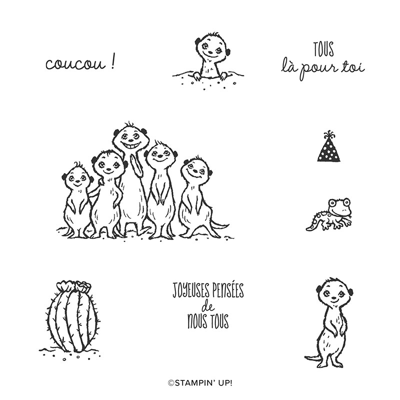 UN PETIT COUCOU CLING STAMP SET (FRENCH)