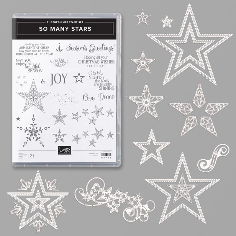So Many Stars bundle Stampin' Up!