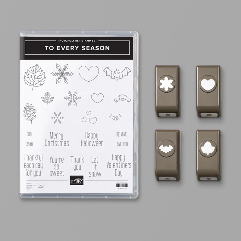 To Every Season Bundle Stampin Up