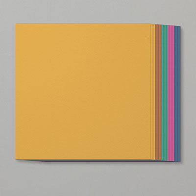 2020–2022 IN COLOR 12 X 12 (30.5 X 30.5 CM) CARDSTOCK ASSORTMENT