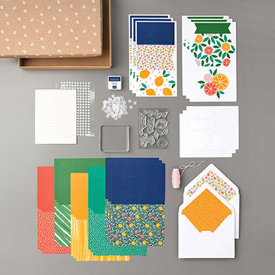 SIMPLY CITRUS ALL-INCLUSIVE CARD KIT (ENGLISH)