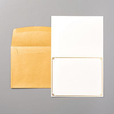 カード&エンベロップ・ゴールド