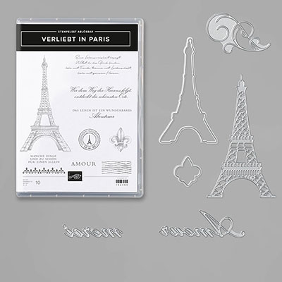 VERLIEBT IN PARIS BUNDLE  (GERMAN)