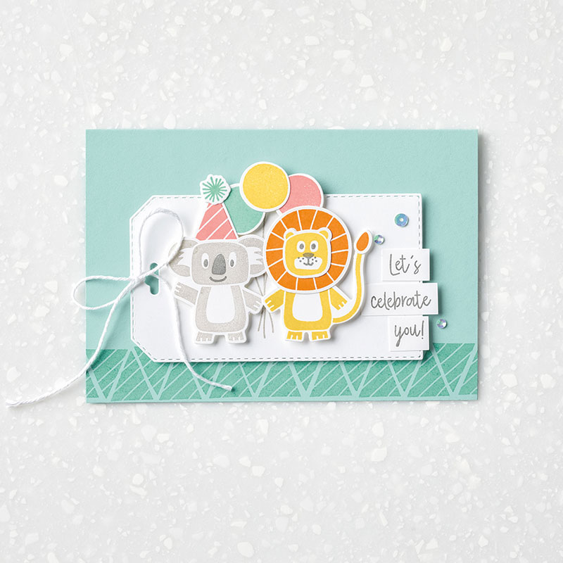 Birthday Bonanza - Tag Note Card