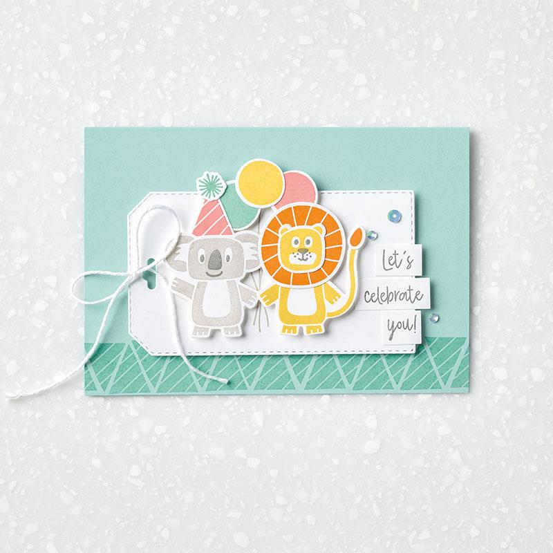 Birthday Bonanza - Tag Note Card