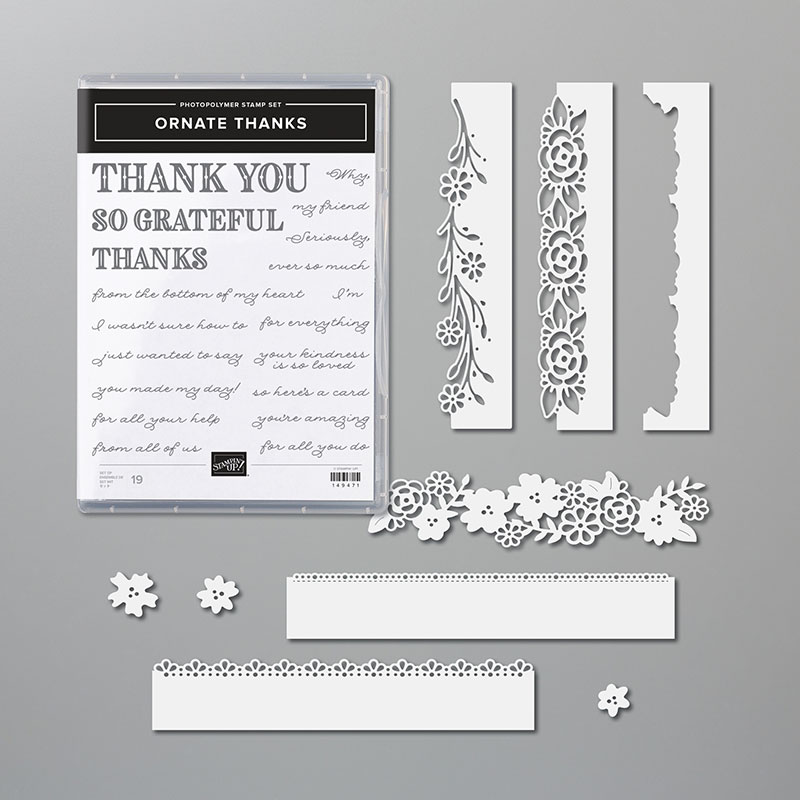 Ornate Thanks Bundle
