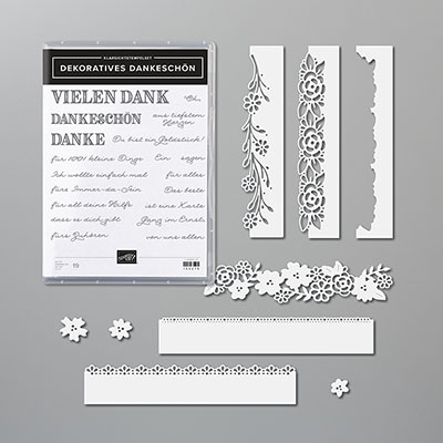 DEKORATIVES DANKESCHÖN BUNDLE (GERMAN)