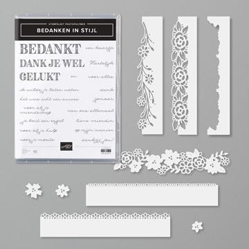 BEDANKEN IN STIJL BUNDLE (DUTCH)