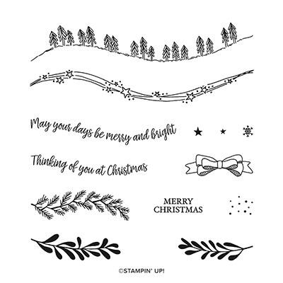 カーヴィー・クリスマス・スタンプセット