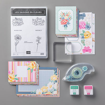 Les saisons en fleurs Cards Collection