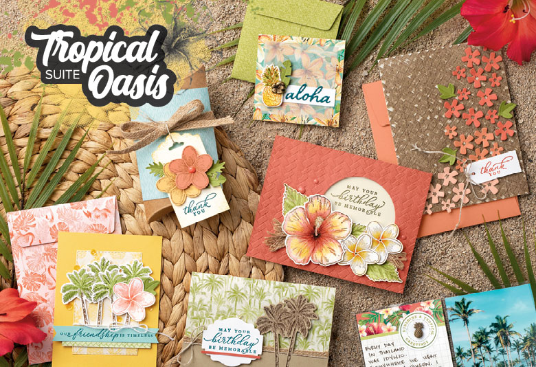 A visit to the Tropics with Tropical Oasis Bundle