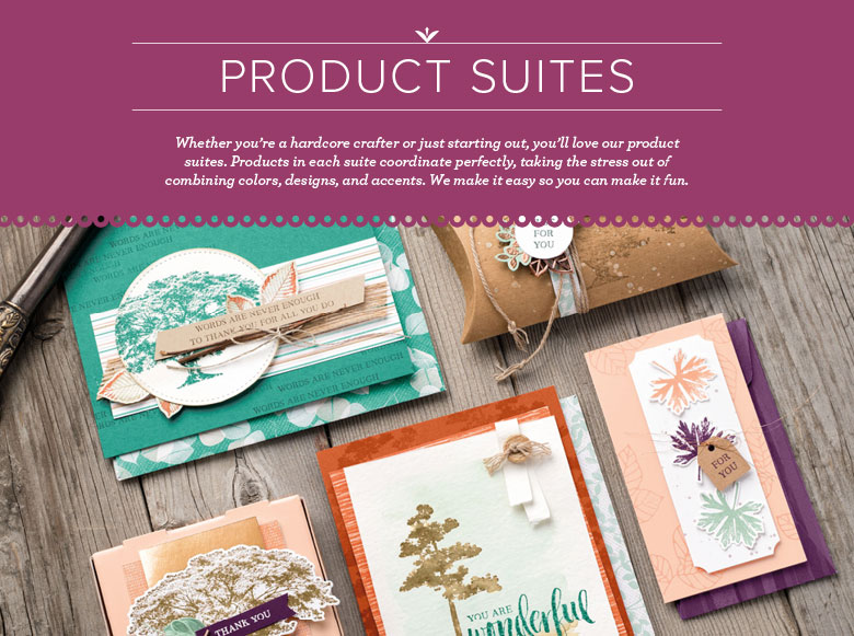 Product Suites for Paper Craft and Card Making